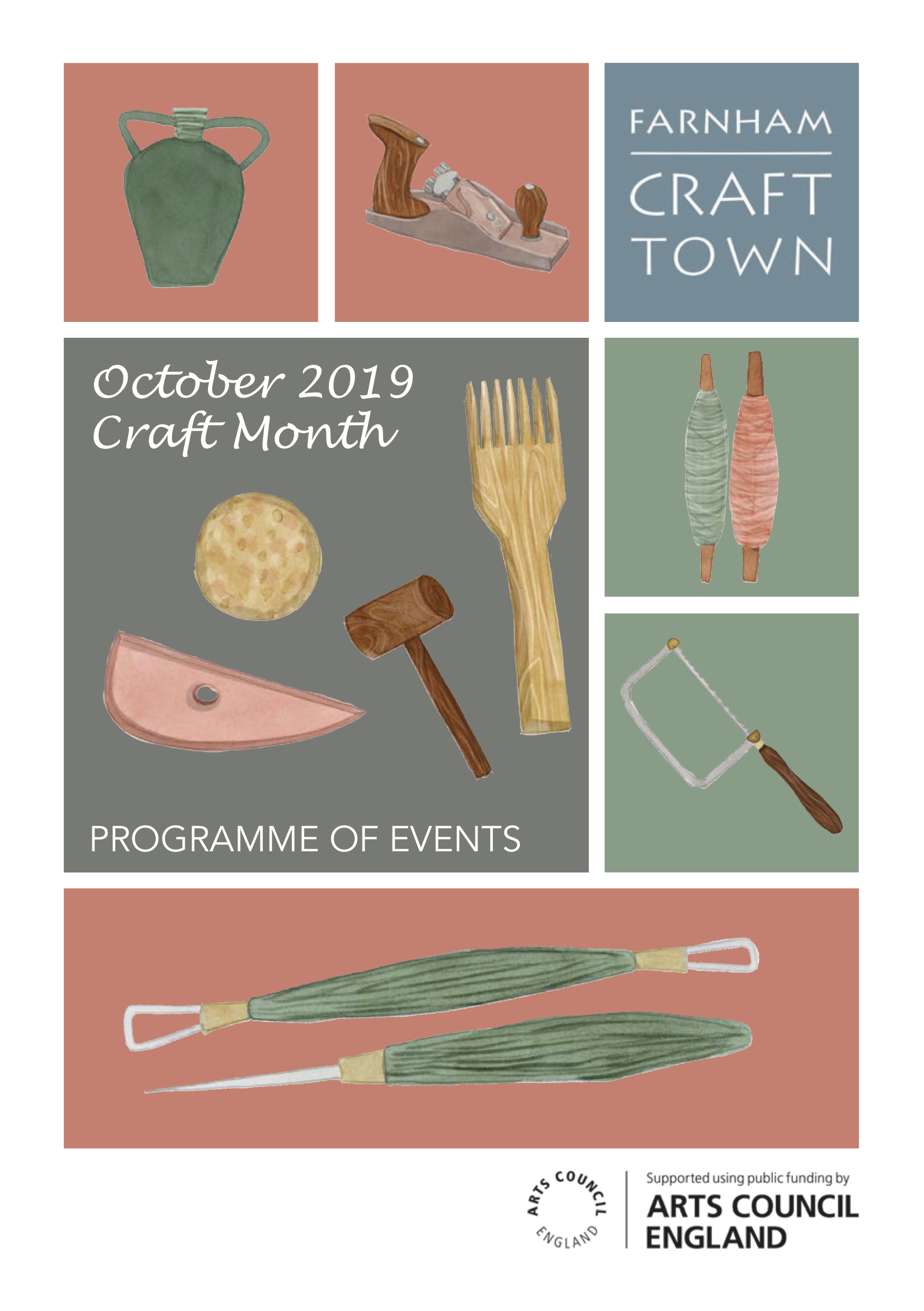 3987AB October Craft Month brochure 2019 web